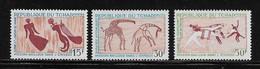 TCHAD  ( AFTC - 221 )  1967  N° YVERT ET TELLIER    N° 146/148   N** - Tsjaad (1960-...)