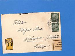 Allemagne Reich 1938 Lettre De Singen, Avec Censure (G2170) - Lettres & Documents
