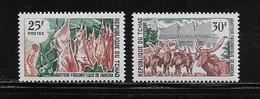 TCHAD  ( AFTC - 229 )  1969  N° YVERT ET TELLIER    N° 213/214   N** - Tsjaad (1960-...)