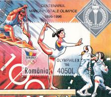 OLYMPHILEX 1996  ROMANIA BLOCK MNH - Other
