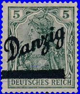 Dantzig 1920. ~ YT 24* - Germania Surchargés - Danzig