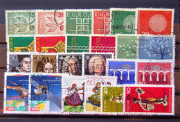 Allemagne Germany - 12 Differents Pairs Of Europa Used - Sammlungen