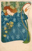 Femme ART NOUVEAU - CHRISTIANSEN ?     (7338 ASO) - 1900-1949