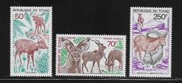 TCHAD  ( AFTC - 267 )  1985  N° YVERT ET TELLIER    N° 501/503   N** - Tsjaad (1960-...)