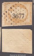 *RARE* PC 3677 (Vorey-sur-Arzon, Haute-Loire (41)), Cote 50€ (+20€ Pour Le Timbre, N° 13A) - 1849-1876: Klassik