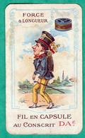 LOUISETTE DE MAUBERT - CARTE PARFUMEE ANCIENNE OFFERTE PAR LE FIL AU CONSCRIT - Vintage (until 1960)