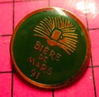 115c Pin's Pins / Beau Et Rare / THEME : BIERES / BIERE DE MARS 91 - Birra