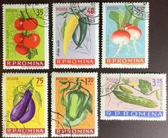 Romania 1963 Vegetables CTO MNH - Gemüse