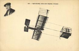 ROUGIER Vole Sur Biplan Voisin  RV - Piloten