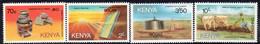 Kenya 1985 Energy Conservation Set Of 4, MNH, SG 339/42 (BA2) - Kenia (1963-...)