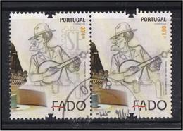 Portugal 2012 Fado Património Da Humanidade Patrimoine Immatériel De L'humanité Heritage Of Humanity Guitar - Used Stamps