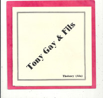 SUPERBE DEPLILLANT De Chez TONY GAY & FILS De THOISSEY ( FOURREUR ) +TARIF SAISON 1935-1935 De 4 Pages . Etat Sup - 1900 – 1949