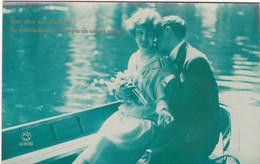 CPA Couples D' Amoureux  . - Koppels