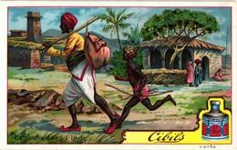 6 Chromos Set Complete Litho Post Office Descalvados Desert Stilts Gascogne Siberia India - Facteurs Postbode Postale - Liebig