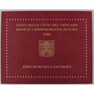 Euro, Vatican, 2 Euro 2008, Année Dédiée à Saint-Paul - Vatican