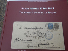 1757-1945 The Albert Schröder Specialized Collection Auction Catalogue (107) - Islas Faeroes