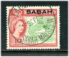 Sabah 1964 Y&T 5 ° - Sabah