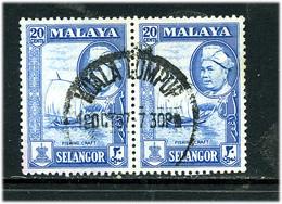 Selangor 1957 Y&T 73 ° Paire - Selangor