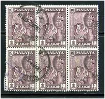 Selangor 1961 Y&T 84 ° Bloc 6 - Selangor