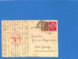 Allemagne Reich 1940 Postkarte De Schwerte à La Hollande, Avec Censure  (G2216) - Storia Postale