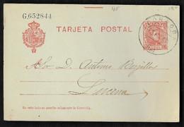 1908. CORDOBA / A LUCENA - Brieven En Documenten