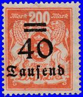 Dantzig 1923. ~ YT 141 à 46 - Surchargés - Danzig
