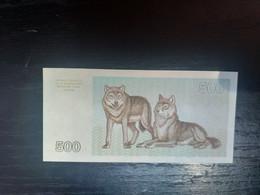 LITHUANIE 500 TALONAS 1993.NEUF/UNC - Lithuania