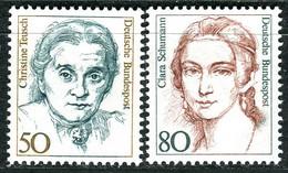 BRD - Mi 1304 / 1305 ✶✶ # - 50-80Pf Frauen - Unused Stamps