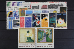 Dänemark, MiNr. 993-1017, Jahrgang 1991, Postfrisch / MNH - Sin Clasificación