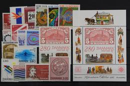 Dänemark, MiNr. 888-904, Jahrgang 1987, Postfrisch / MNH - Sin Clasificación