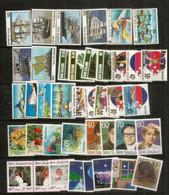 NOUVELLE ZELANDE. Annee 1989.  40 Timbres + 5 Blocs-feuillets Neufs **   Côte 110 Euro. Deux Photos - Ungebraucht