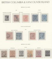 Amerika: 1851/1947, CANADIAN PROVINCES, Very Comprehensive Mint/used Collection, Comprising British - Autres - Amérique