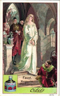 6 Chromos Set Complete Circa 1900  Litho Faust Opera Easter Marguerite Walpurgis Devil Apotheose Dream VG - Liebig