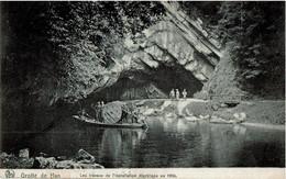 Han Sur Lesse Grotte Installation électrique ( Rare ) !!! - Rochefort