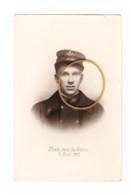 Photo (grandeur CP) Guerre 40/45 - Nicolas DEMORTIER, Facteur, Résistant à L' A.S. DISON 1906/ LIEGE 1943 (1730) - 1939-45