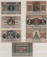 Varia (im Briefmarkenkatalog): NOTGELD: Städtenotgeld Der Deutschen Ostgebiete U.a Allenstein, Kolbe - Ohne Zuordnung