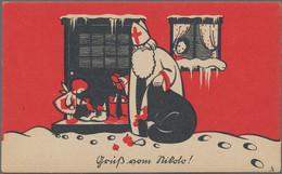 Varia (im Ansichtskartenkatalog): Motive + Übersee : Posten Von Ingesamt 9 Kartons , Vieles Vor 1945 - Ohne Zuordnung