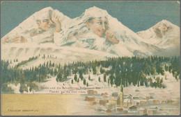 Varia (im Ansichtskartenkatalog): Ca. 4.800 Alte Ansichtskarten Aus Dem Bereich Motive (vor 1945) Im - Ohne Zuordnung