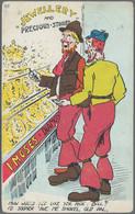 """Varia (im Ansichtskartenkatalog): Bestand Von Ca. 3.600 Ansichtskarten """"Motive"""" In 3 Kartons (vor 19 - Ohne Zuordnung"""