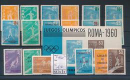 OLYMPIC GAMES 1960 PANAMA SET MNH - Estate 1960: Roma