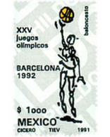 Ref. 52098 * MNH * - MEXICO. 1991. GAMES OF THE XXV OLYMPIAD. BARCELONA 1992 . 25 JUEGOS OLIMPICOS VERANO BARCELONA 1992 - Other