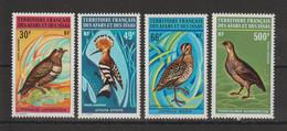 Afars Et Issas 1972 Série Oiseaux PA 68-71 4 Val ** MNH - Neufs