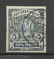 Ukraine Ukraina 1918 Michel 41 OPT Kiew O - Ucraina