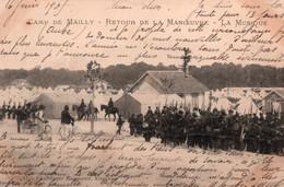 10 / CAMP DE MAILLY / RETOUR DE LA MANOEUVRE / LA MUSIQUE / RARE - Mailly-le-Camp