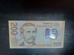 ALBANIE 200 LEKE 2017.POLYMERE.NEUF/UNC - Albania