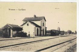 CPA   VAUMAS   La Gare - Autres Communes