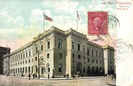 San Francisco California Post Office + Beau Timbre Cachet RV - San Francisco