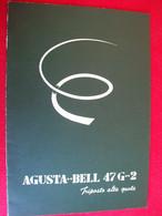 DEPLIANT ELICOTTERO AGUSTA  BELL 47 G-2 - Non Classificati
