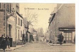 CPA  LE VEUDRE  Rue De L'Alliers - Autres Communes