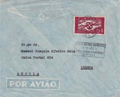 PORTUGAL PLI AERIEN POUR LUANDA - Covers & Documents
